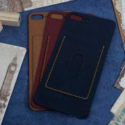 Miếng dán da iPhone 8 Plus da Nappa có ngăn đựng thẻ