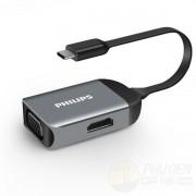 Bộ Chuyển Đổi Philips TYPE-C to HDMI if VGA