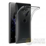 Ốp lưng Sony XZ2 dẻo trong suốt siêu mỏng