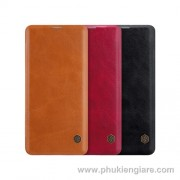 Bao da Galaxy S10 5G Nillkin QIN Leather