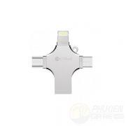 Đầu Chuyển Coteetci Memory 4-in-1 32GB (USB-Lightning-Micro-TypeC)