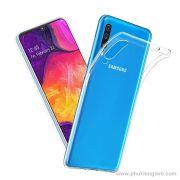 Ốp lưng Galaxy A70 TPU dẻo siêu mỏng trong suốt