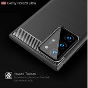 Ốp lưng Galaxy Note 20 Ultra Likgus TPU chống sốc màu Đen - Hàng Chính Hãng