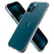 Ốp lưng iPhone 12/12 Pro Spigen Crystal Hybrid - Hàng Chính Hãng