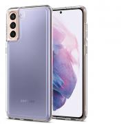 Ốp lưng Galaxy S21 Plus Spigen Crystal Hybrid - Hàng Chính Hãng