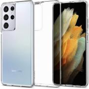 Ốp lưng Galaxy S21 Ultra Spigen Liquid Crystal - Hàng Chính Hãng