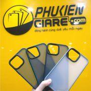 Ốp lưng chống sốc Likgus iPhone 13 nhám viền màu