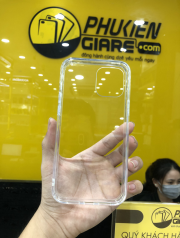 Ốp lưng iPhone 12 Pro Max Likgus PC chống sốc Trong suốt