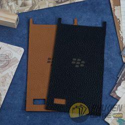 Miếng dán da BlackBerry Leap da bò 100%