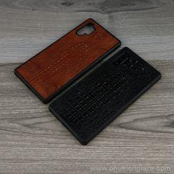 Ốp lưng Galaxy Note 10 Plus GUDA - Da Cá Sấu