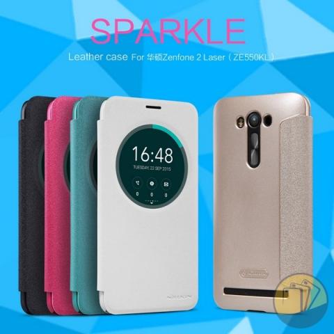 bao-da-asus-zenfone2-laser-5.5inch-hieu-nillkin-sparkle-1