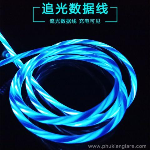 Cáp Sạc Micro USB đèn LED phát sáng