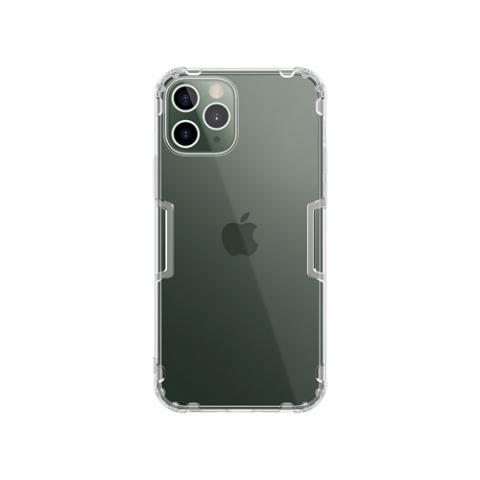 Ốp lưng iPhone 12 6.1in Nillkin Nature TPU Case Trong Suốt - Hàng Chính Hãng