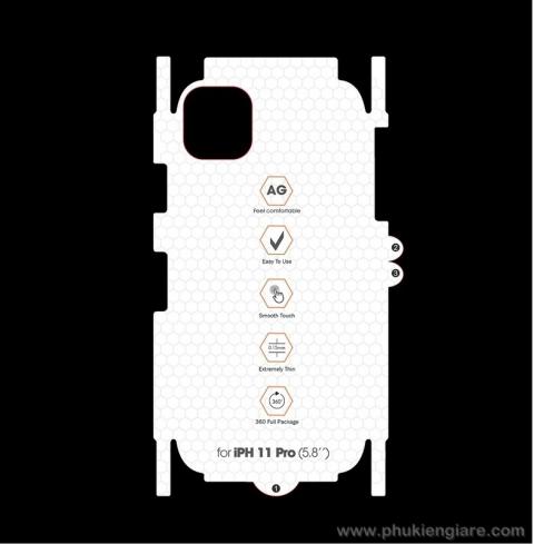 Miếng dán bảo vệ iPhone 11 Pro Newmond PPF