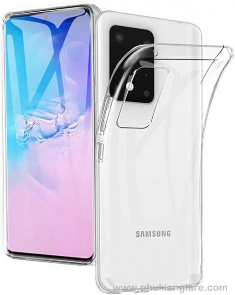 Ốp lưng Galaxy S11 TPU dẻo siêu mỏng Trong suốt