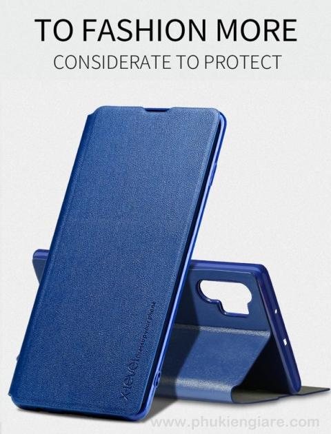 Bao da Galaxy Note 10 Pipilu X-Level Fibcolor