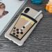 Ốp lưng iPhone Xs TPU dẻo kiểu ly trà sữa